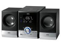 AEG MC 4461 BT Mini set 11W Schwarz, Silber (Schwarz, Silber)