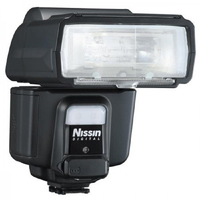 Nissin i60a Kompaktes Blitzlicht Schwarz (Schwarz)