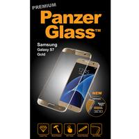 PanzerGlass 1055 klar Galaxy S7 1Stück(e) Bildschirmschutzfolie (Gold, Transparent)