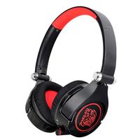 Tt eSPORTS Cronos GO Stereophonisch Kopfband Schwarz, Rot (Schwarz, Rot)