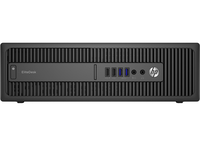 HP EliteDesk 800 G2 Small-Form-Factor-PC (ENERGY STAR) (Schwarz)