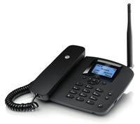 Motorola FW200L Anrufer-Identifikation Telefon (Schwarz)