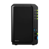 Synology DS216+II NAS Desktop Eingebauter Ethernet-Anschluss Schwarz NAS & Speicherserver (Schwarz)
