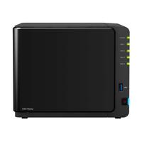 Synology DS416play NAS Desktop Eingebauter Ethernet-Anschluss Schwarz (Schwarz)