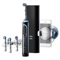 Oral-B Genius 9000S Rotierende-vibrierende Zahnbürste Schwarz (Schwarz)