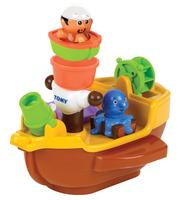 Tomy Toomies Pirate Ship Bath Toy Badeboot Mehrfarben (Mehrfarben)