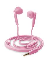 Cellular Line Mantis im Ohr Binaural Verkabelt Pink Mobiles Headset (Pink)