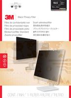 3M 19,5W Blickschutzfilter für Monitor (Schwarz, Durchscheinend)