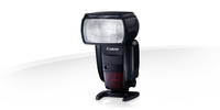 Canon Speedlite 600EX II-RT Slave-Blitz Schwarz (Schwarz)