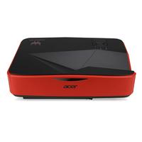 Acer Predator Z850 Desktop-Projektor 300ANSI Lumen DLP UWHD (1920x720) Schwarz, Rot Beamer (Schwarz, Rot)