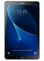 Samsung Galaxy Tab A 10.1 (2016) 16GB 3G 4G Schwarz (Schwarz)