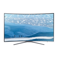 Samsung UE65KU6509U 65Zoll 4K Ultra HD Smart-TV WLAN Silber (Silber)