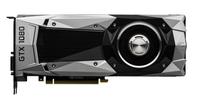 PNY GF1080GTX8GEPB NVIDIA GeForce GTX 1080 8GB Grafikkarte (Schwarz, Silber)