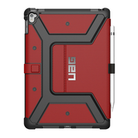 Urban Armor Gear IPDPRO9.7-RED 9.7Zoll Folio Rot Tablet-Schutzhülle (Rot)