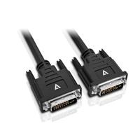 V7 DVI-D-auf-DVI-D-Kabel 5m (Schwarz)