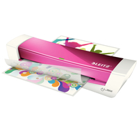 Leitz iLAM Laminator Home Office A4 (Pink, Weiß)