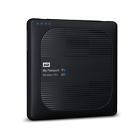 Western Digital My Passport Wireless Pro 3000GB WLAN Schwarz (Schwarz)