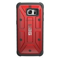 Urban Armor Gear GLXS7EDGE-MGM 5.5Zoll Abdeckung Rot Handy-Schutzhülle (Rot)