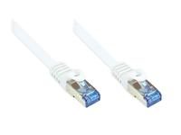 Alcasa Cat6a 25m 25m Cat6a S/FTP (S-STP) Weiß (Weiß)