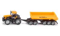 Siku 1858 1:87 Preassembled Traktor Landfahrzeug-Modell (Schwarz, Gelb)