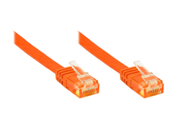 Alcasa Cat6 U/UTP 0.5m 0.5m Cat6 U/UTP (UTP) Orange (Orange)