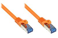 Alcasa 30m Cat. 6A, S/FTP 30m Cat6a F/FTP (FFTP) Orange (Orange)