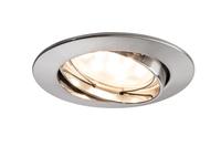 Paulmann 927.68 Innenraum Recessed lighting spot 6.8W A+ Edelstahl Lichtspot (Edelstahl)