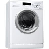 Bauknecht WA Slim 714 BW Freistehend Frontlader 7kg 1400RPM A+++ Weiß Waschmaschine (Weiß)