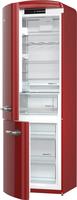 Gorenje ORK193R-L Freistehend 227l 95l A+++ Rot (Rot)