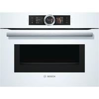 Bosch Serie 8 CMG676BW1 Eingebaut Elektro 45l Weiß Backofen (Weiß)