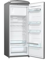 Gorenje ORB153X Freistehend 254l A+++ Grau Kühlschrank mit Gefrierfach (Grau)
