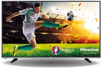 Hisense H55M3300 55Zoll 4K Ultra HD Smart-TV WLAN Schwarz LED-Fernseher (Schwarz)