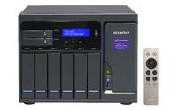 QNAP TVS-882 NAS Turm Eingebauter Ethernet-Anschluss Grau (Grau)