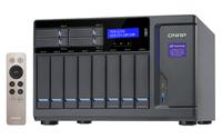 QNAP TVS-1282 NAS Tower Eingebauter Ethernet-Anschluss Schwarz (Schwarz)