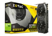 Zotac ZT-P10800C-10P NVIDIA GeForce GTX 1080 8GB Grafikkarte (Schwarz, Karbon, Gelb)