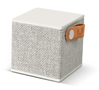 Fresh 'n Rebel Rockbox Cube Fabriq Edition 3W Kubus Grau (Grau)