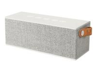 Fresh 'n Rebel 1RB3000CL Stereo 12W Rechteck Silber Tragbarer Lautsprecher (Silber)