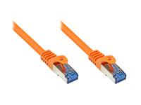 Alcasa Cat6a 1.5m 1.5m Cat6a S/FTP (S-STP) Orange (Orange)