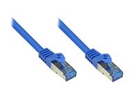 Alcasa Cat6a 30m 30m Cat6a S/FTP (S-STP) Blau (Blau)