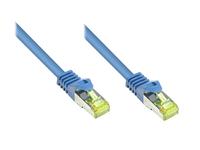 Alcasa Cat7 20m 20m Cat7 S/FTP (S-STP) Blau (Blau)