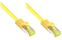 Alcasa 20m, Cat. 7, S/FTP 20m Cat7 S/FTP (S-STP) Gelb (Gelb)