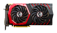 MSI GeForce GTX 1080 GAMING 8G GeForce GTX 1080 8GB GDDR5X (Schwarz, Rot)