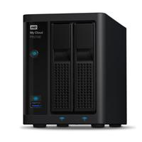 Western Digital My Cloud PR2100 8TB NAS Kompakt Eingebauter Ethernet-Anschluss Schwarz (Schwarz)