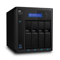 Western Digital My Cloud PR4100 NAS Eingebauter Ethernet-Anschluss Schwarz (Schwarz)