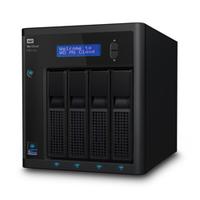 Western Digital My Cloud PR4100 32 TB NAS Kompakt Schwarz (Schwarz)