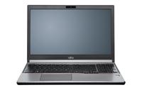 Fujitsu LIFEBOOK E756 2.3GHz i5-6200U 15.6Zoll 1366 x 768Pixel Schwarz, Rot, Silber (Schwarz, Rot, Silber)