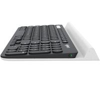 Logitech K780 Bluetooth QWERTZ Deutsch Schwarz, Weiß (Schwarz, Weiß)