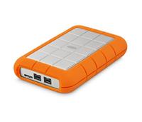 LaCie Rugged Triple 3.0 (3.1 Gen 1) 1000GB Weiß Externe Festplatte (Orange, Weiß)