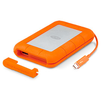 LaCie Rugged Thunderbolt 2000GB Orange (Orange)