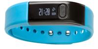 Denver BFA-10BLUE Armband activity tracker 0.49Zoll OLED Verkabelt Schwarz (Schwarz)